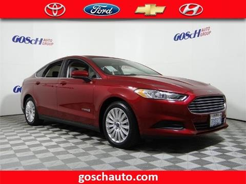 2016 Ford Fusion Hybrid for sale in Hemet, CA
