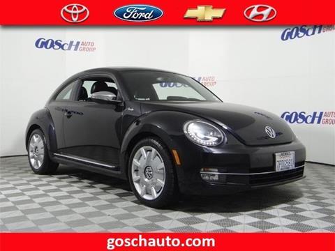 2013 Volkswagen Beetle for sale in Hemet, CA