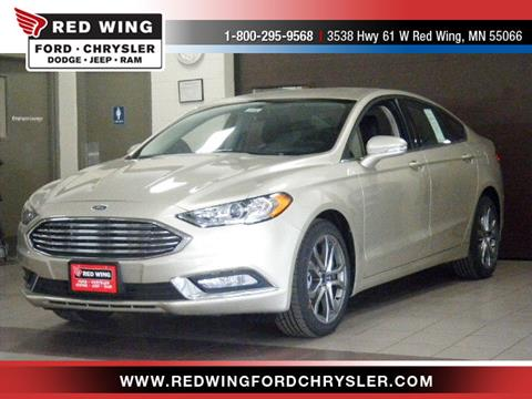 2017 Ford Fusion for sale in Red Wing, MN