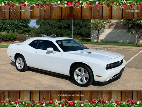 College Station Car Dealerships >> Dodge Challenger For Sale In College Station Tx Pitt Stop