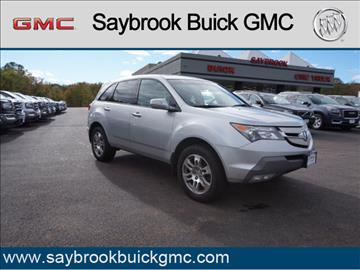 2008 Acura MDX for sale in Saybrook, CT