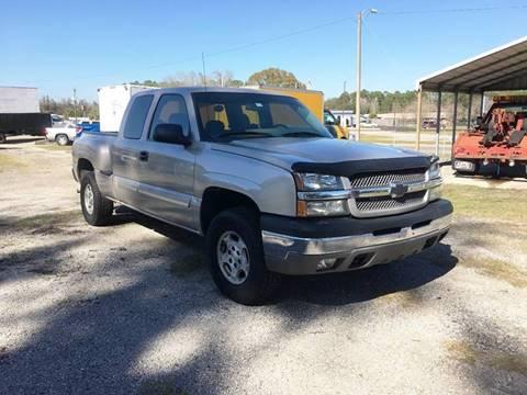 2004 Chevrolet Silverado 1500 for sale at Scruggs Motor Company LLC in Palatka FL