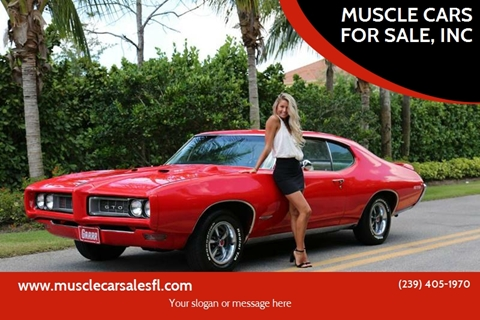 1968 Pontiac GTO for sale in Fort Myers, FL