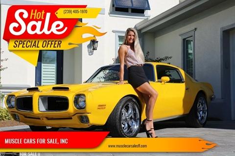 1970 Pontiac Firebird for sale in Fort Myers, FL