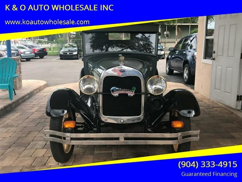 1928 Ford Model A for sale in Jacksonville, FL
