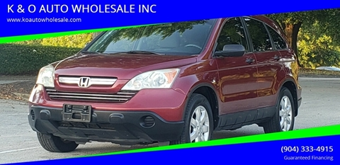 2008 Honda CR-V for sale in Jacksonville, FL