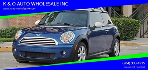 2007 MINI Cooper for sale in Jacksonville, FL