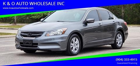 2011 Honda Accord for sale in Jacksonville, FL