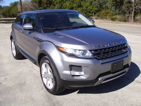2014 Land Rover Range Rover Evoque Coupe for sale in Austin, TX