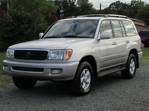 1998 Toyota Land Cruiser for sale in Warrenton, VA