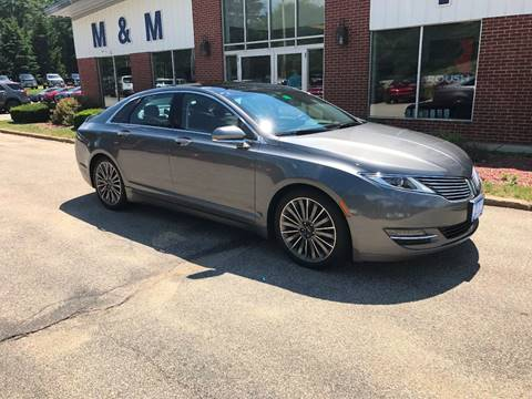 2014 Lincoln MKZ for sale in Epsom NH