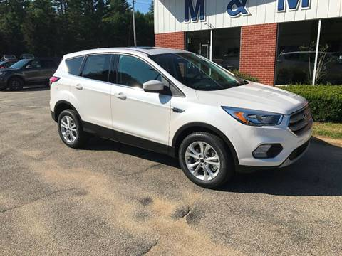 2017 Ford Escape for sale in Epsom, NH