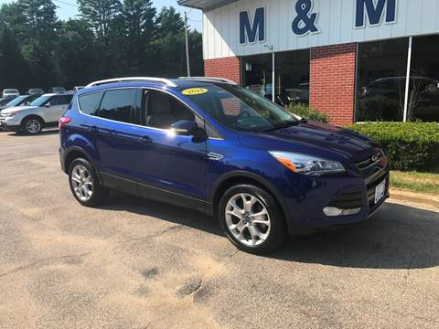 2014 Ford Escape for sale in Epsom NH