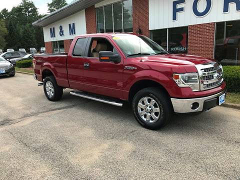 2014 Ford F-150 for sale in Epsom NH