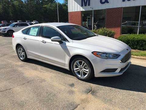 2018 Ford Fusion for sale in Epsom, NH