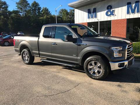 2015 Ford F-150 for sale in Epsom, NH