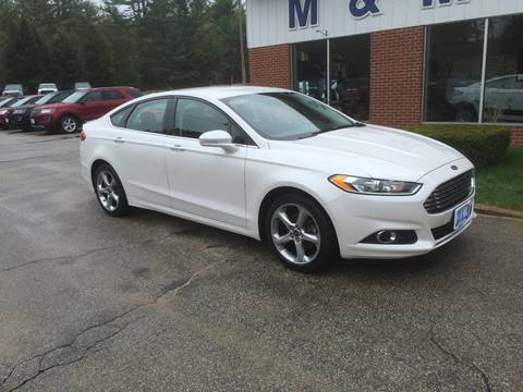 2013 Ford Fusion for sale in Epsom NH