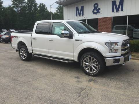 2016 Ford F-150 for sale in Epsom, NH