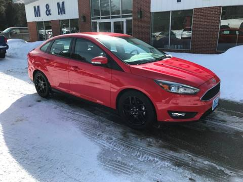 2016 Ford Focus for sale in Epsom NH