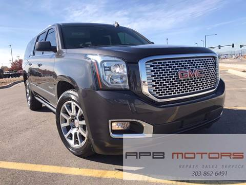 2015 GMC Yukon XL for sale in Commerce City, CO