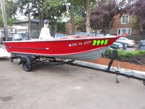 1962 Starcraft fishing boat