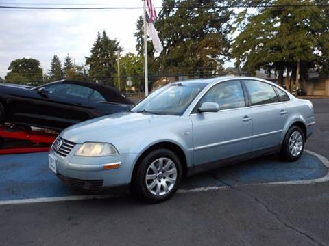 2002 Volkswagen Passat for sale in Portland, OR