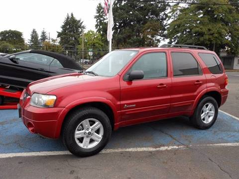 2007 Ford Escape Hybrid for sale in Portland, OR