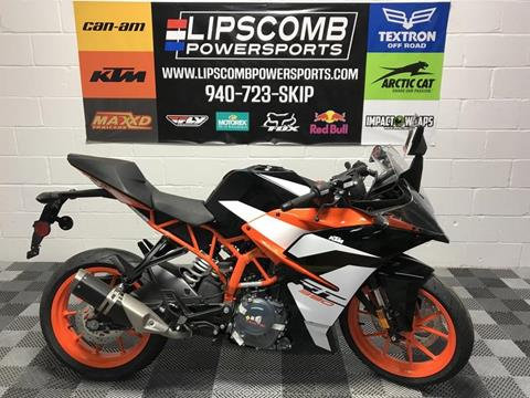 2018 KTM RC 390 for sale in Wichita Falls, TX