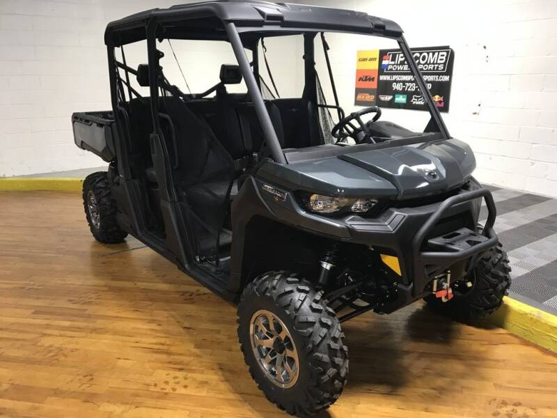 2020 Can-Am Defender Max Lone Star HD10