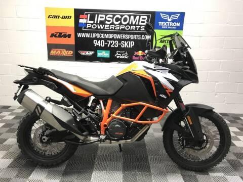 2020 KTM 1290 Super Adventure R for sale at Lipscomb Powersports in Wichita Falls TX