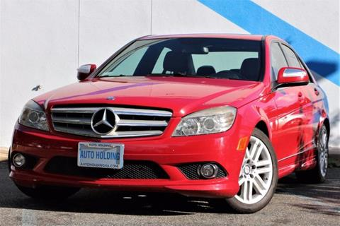 2008 mercedes benz c class for sale for Average insurance cost for mercedes benz c300
