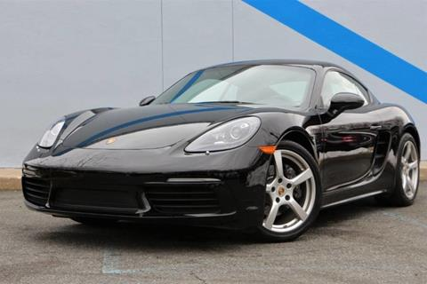 Used 2017 Porsche 718 Cayman For Sale In Hickory Nc Carsforsale