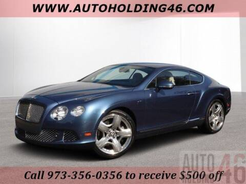 2012 Bentley Continental for sale in Mountain Lakes, NJ