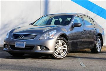 2013 Infiniti G37 Sedan for sale in Mountain Lakes, NJ