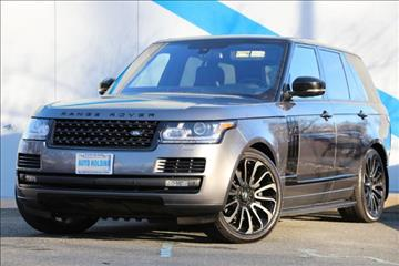 2016 Land Rover Range Rover for sale in Mountain Lakes, NJ