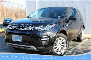 2016 Land Rover Discovery Sport for sale in Mountain Lakes, NJ
