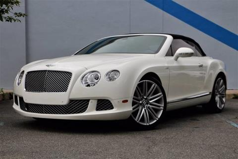 2014 Bentley Continental GT Speed for sale in Mountain Lakes, NJ