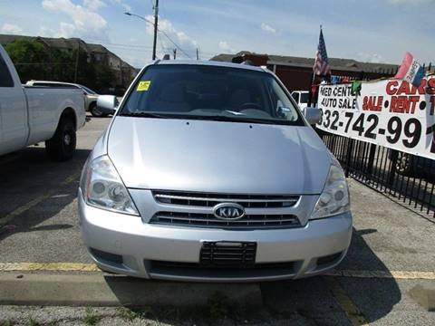 2009 Kia Sedona for sale in Houston, TX