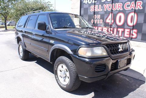 2002 Mitsubishi Montero Sport for sale in Omaha, NE