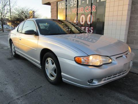 2000 Chevrolet Monte Carlo for sale in Omaha, NE