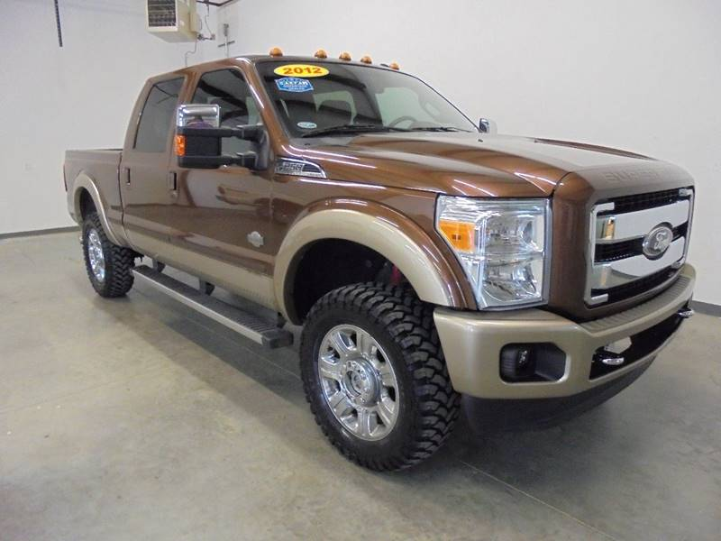 2012 ford f 250 super duty 4x4 king ranch 4dr crew cab 6 8 ft sb pickup in broken arrow ok. Black Bedroom Furniture Sets. Home Design Ideas
