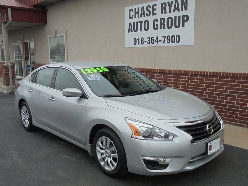 2014 nissan altima 2 5 s 4dr sedan in broken arrow ok chase ryan auto group. Black Bedroom Furniture Sets. Home Design Ideas