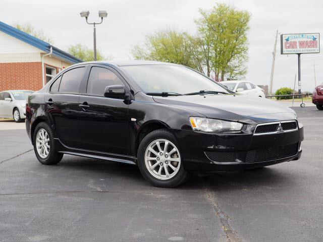 Captivating 2010 Mitsubishi Lancer ES 4dr Sedan CVT   Broken Arrow OK