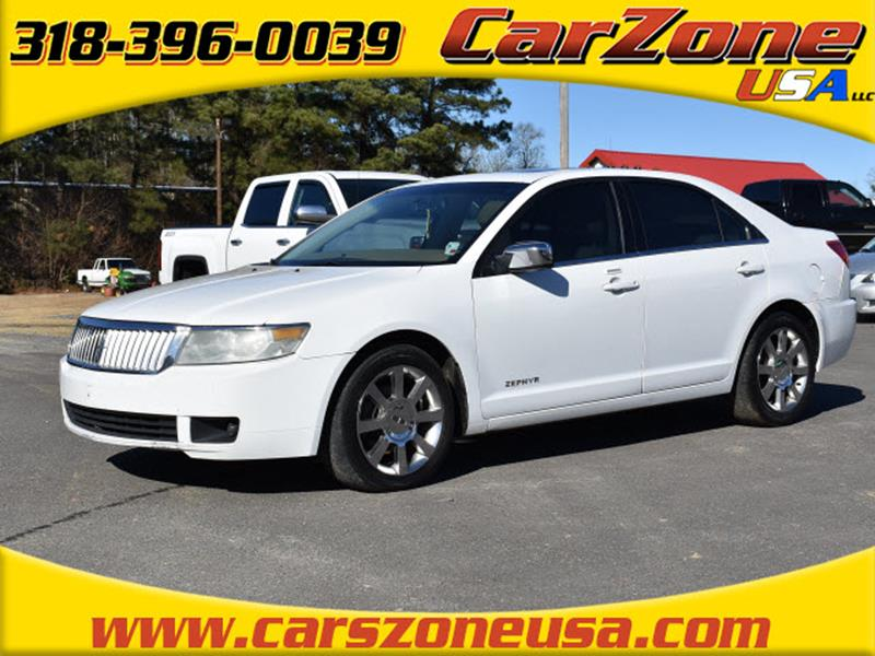 2006 Lincoln Zephyr for sale at CarZoneUSA in West Monroe LA