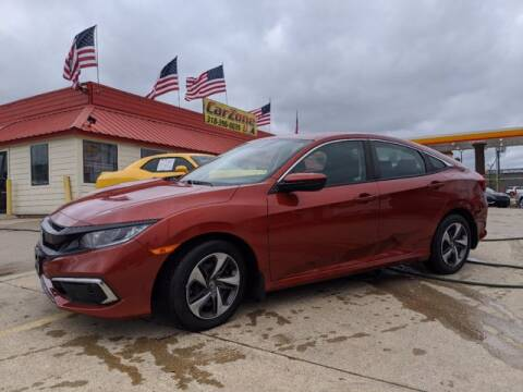 2019 Honda Civic for sale at CarZoneUSA in West Monroe LA