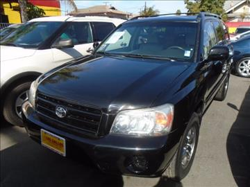 2005 Toyota Highlander for sale in Los Angeles, CA