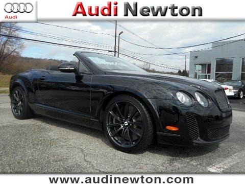 2012 Bentley Continental Supersports for sale in Newton, NJ