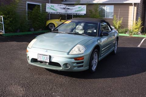 2003 Mitsubishi Eclipse Spyder for sale in Cornelius, OR