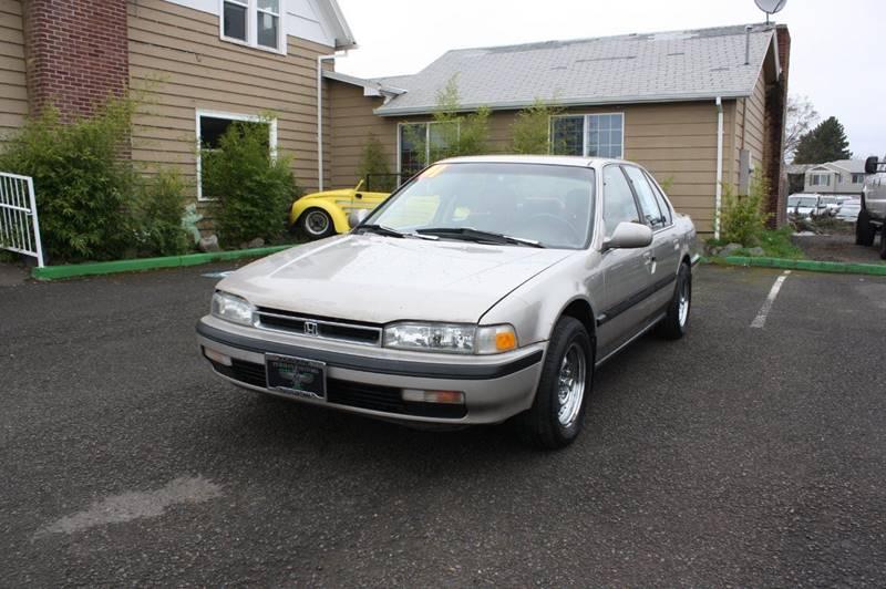 1991 Honda Accord LX 4dr Sedan   Cornelius OR