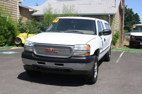 2002 GMC Sierra 2500HD for sale in Cornelius, OR